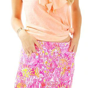 Lilly Pulitzer January Skort in Pink Pout